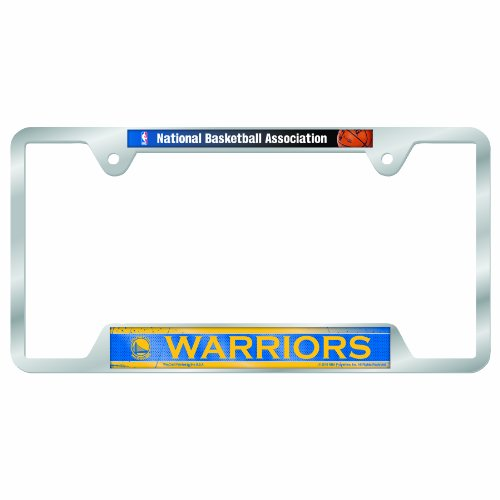 NBA Golden State Warriors Metal License Plate Frame