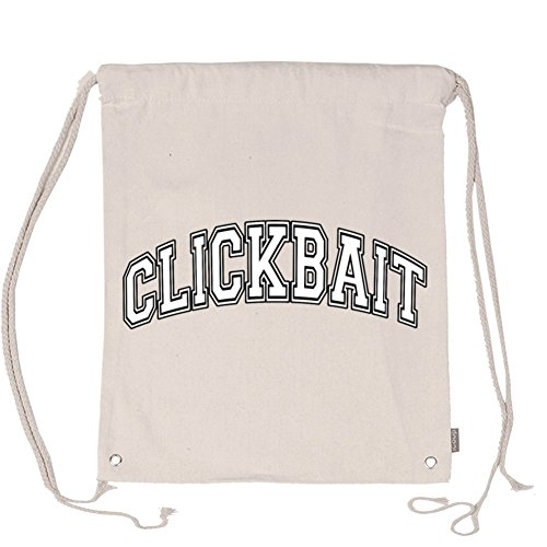 Aliensee David Dobrik Youtube Clickbait Unisex Cotton Drawstring Backpack Gym Sackpack 13 78 X15 75  Beige