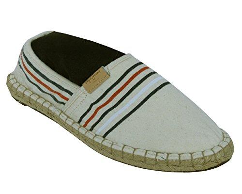 Pepe Jeans Men Samoa Linen Espadrilles 844 Beige