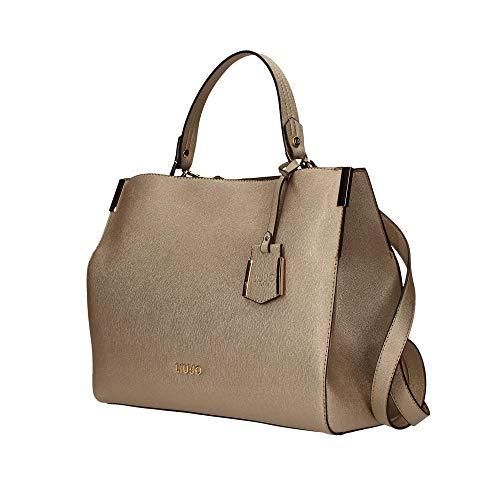 N19002e0087 Liu jo Bag 22222 Oro Black Shopping wRfRUXq