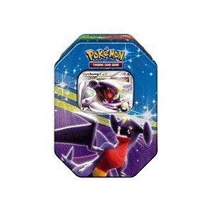 Pokemon Platinum Fall 2009 Collector Tin Set Garchomp with Garchomp C LV.X Card ()