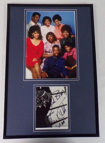 Alaina Reed Hall Signed Framed 11x14 Photo Display w/ 227 cast (Of 227 Cast)