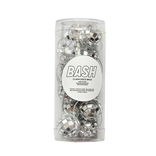 Bash Party Goods 200307 Disco Balls, Silver]()