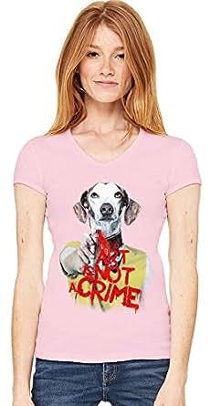Art Is Not A Crime V-neck T-shirt XX-Large