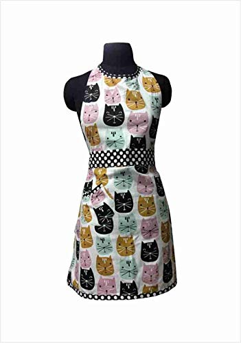 GREEN IMPEX Export Quality Cotton Home USE Apron   Free Size
