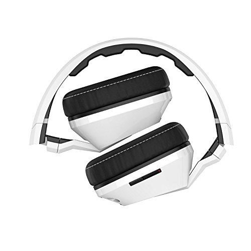 41sLDW JA3L - Skullcandy Crusher Headphones with Built-in Amplifier and Mic, White