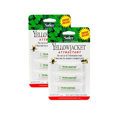 Safer 02006 Deluxe Yellow Jacket (2 Pack) by Safer Brand