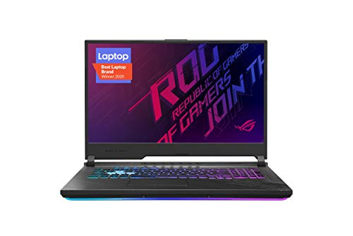 "ASUS ROG Strix G17 (2020) Gaming Laptop, 17.3"" 144Hz IPS Type FHD Display, NVIDIA GeForce RTX 2070 SUPER, Intel Core i7…"