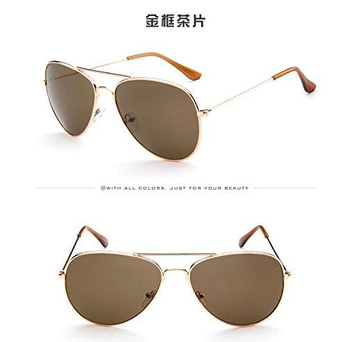 gran conducción mujer única de Retro de sol nbsp;Moda Oval para polarizadas talla UV400 gafas Caqui gafas caqui Nikgic Pa50q1xwOa