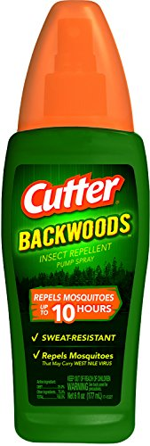 Cutter Backwoods Insect Repellent Pump Spray, ()