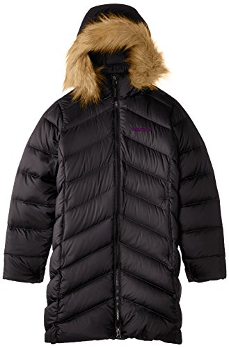 Marmot Kids Girl's Girls' Montreaux Coat (Little Kids/Big Kids) Black 1 Outerwear LG (10/12 Big Kids) by Marmot