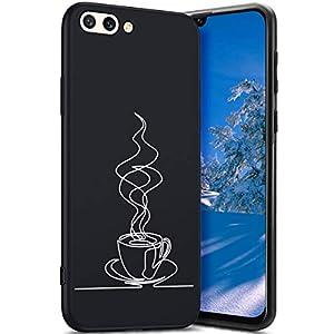 Robinsoni Cover Compatible con Huawei Honor 10 Case Flessibile Nera Custodia in Gomma Antiurto Caso Modello Semplice… 3 spesavip