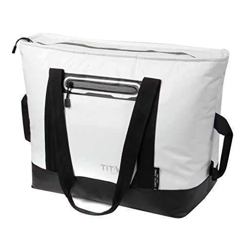 Arctic Zone Titan Deep Freeze 30 Can Tote, White (Best Small Cooler Bag)