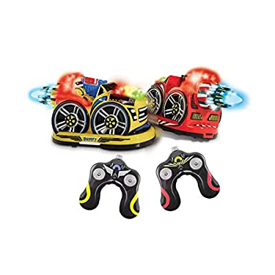 Kid Galaxy Remote Control Bumper Cars. RC 2 Player Game. 2 Cars and 2 Controllers Included: Toys & Games