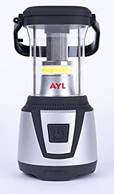 Camping / Emergency LED Lantern DL790 by AYL / Brightest 700 Lumens / 360 Degree Light|Battery Operated with Mini Flashlight / Water Resistant for Camp, Backpacking, Hiking, Outdoor Adventures