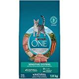 Purina ONE Sensitive Systems Natural Dry Cat Food - 1.8 kg Bag