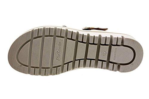 Zapato Platino Charol Terra PieSanto Extraíble Confort Metal Sandalia Ante Plantilla 180786 wxT0ZH4qa