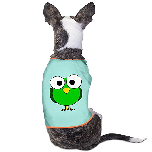 [Green Bird Cartoon Pajamas Cotton Dog Dress Jumpsuits Suitable For Lovely Small Dogs] (21 Jump Street Green Costume)