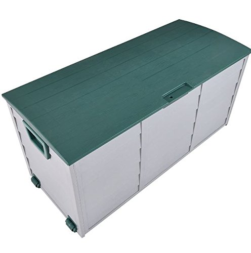eXXtra Store 70 Gallon Outdoor Deck Storage Box 44'' Garage Patio Shed Tool Bench Container + eBook by eXXtra Store (Image #2)