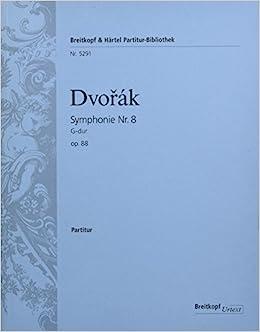 ドヴォルザーク: 交響曲 第8番 ト長調 Op.88/ブライトコップ & ヘルテル社/指揮者用大型スコア