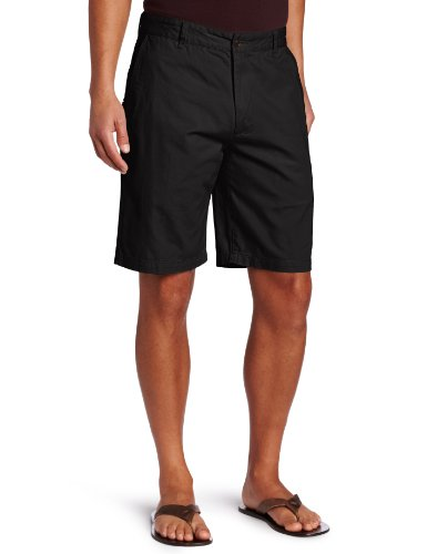 (Dockers Men's Classic-Fit Perfect-Short - 30W - Black (Cotton))