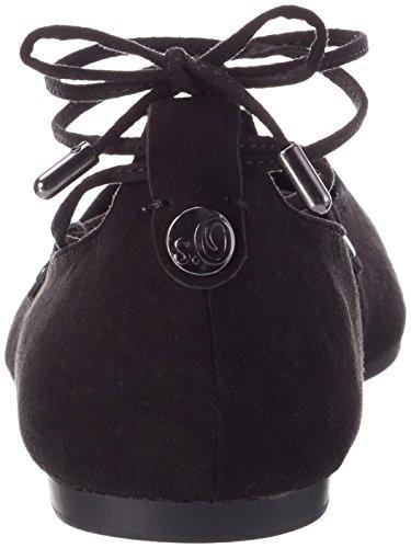 s Bailarinas Negro Black Oliver Mujer 22108 001 para HrEnHwgxq