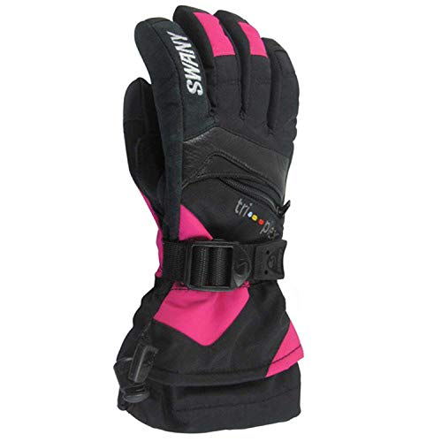 Swany SX-80J Junior's X-Change Jr Glove, Black/Magenta - -