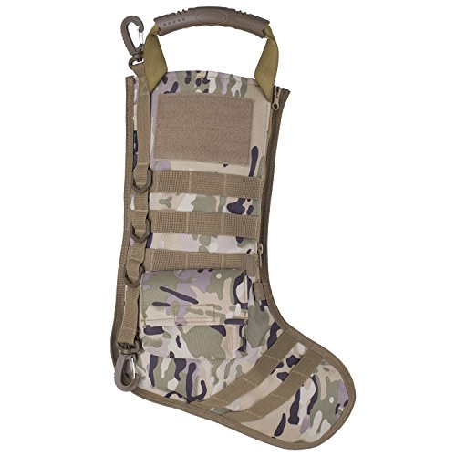 RUCKUP RUXMTSDC Tactical Christmas Stocking, Multicam, Full