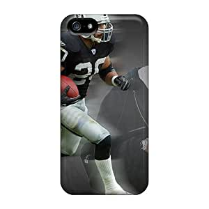 Tpu Shockproof/dirt-proof Oakland Raiders Cover Case For Iphone(5/5s)