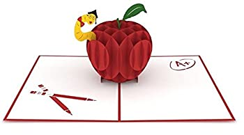 Lovepop Teacher's Apple 3D card