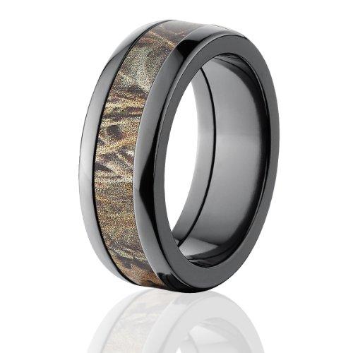 realtree max 4 camo rings camo bands camouflage wedding ringsamazoncom