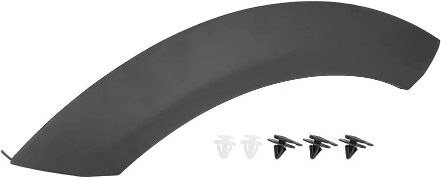 X AUTOHAUX Front Wheel Arch Trim Fender Rear Left Side Fender Flares Black 51131505865 for BMW Mini Copper