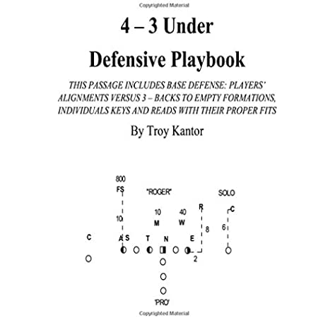 4 3 Under Defensive Playbook Base Defense Volume 1 Kantor