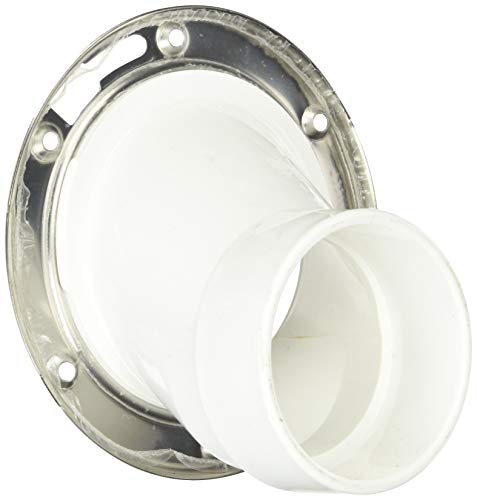 (Soux Chief 889-POM Full Flush Offset Flange PVC for Drainage Systems )