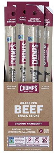 Chomps 100% Grass Fed Jerky Sticks
