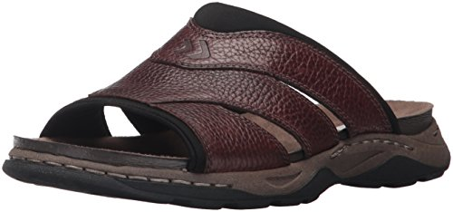 Dr. Scholl's Shoes Men's Harris Fisherman Sandal, Brown, 9 M US