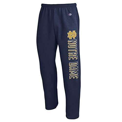 Elite Fan Shop Notre Dame Fighting Irish Sweatpants Pockets Navy - L