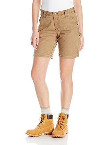 Carhartt Women's Original Fit Crawford Short, Yukon, 4 ()