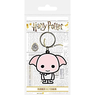 Pyramid International Harry Potter Rubber Keychain Chibi Dobby 6 cm Portachiavi: Office Products