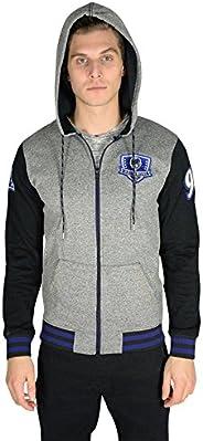 Ultra Game NFL Men's Full Zip Soft Fleece Hoodie Letterman Varsity Ja