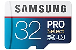 Samsung 32GB 95MB/s PRO Select Micro SDHC Memory Card (MB-MF32DA/AM)