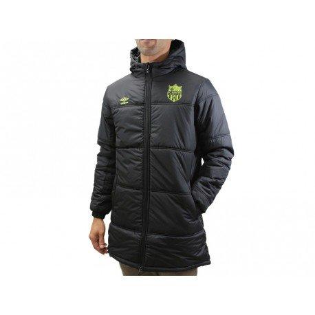 Fc Nantes NJF PADDED JKT-Abrigo para hombre, diseño del equipo de fútbol Fc Nantes Umbro negro XL: Amazon.es: Ropa y accesorios