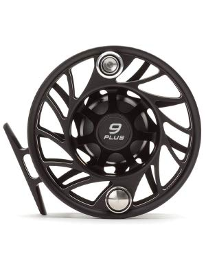 Hatch Gen 2 Finatic 9 Plus Fly Reel, Black/Silver, Mid Arbor