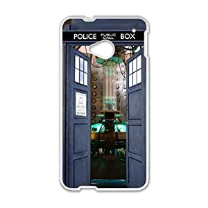 Police Box White htc m7 case