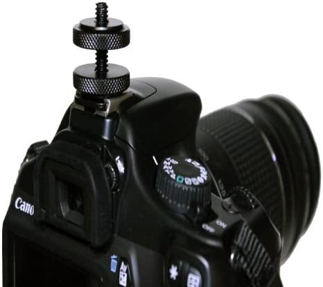 Camera DSLR or Hot//Cold Shoe Connection Mount Adapter iShot G8 Pro iPad Air 2 Tripod Mount Adapter Holder Case 360/° Locking Swivel Ball Head Bundle Kit