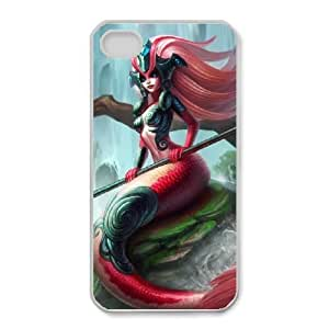 iPhone 4 4s Cell Phone Case White League of legends Nami Custom KHJSFNUJF8587