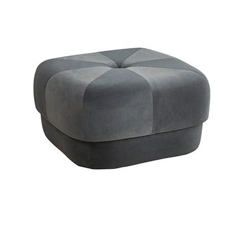 Brilliant Amazon Com Blryp Small Stool Fabric Ottoman Round Modern Short Links Chair Design For Home Short Linksinfo