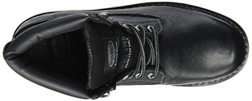 Dockers by Gerli 33cr001-140100, Botas Militar para Hombre Negro (Schwarz 100)