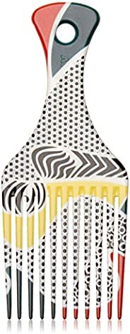 AFROPICK Anti-Static Plastic Hair Pick for Long, Thick, Curly, & Afro Hair (Third