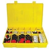 Shear-Loc SLK-621 Plastic Thumb Screw Knob Assortment Set 260 Pcs. Metric Asst, Black